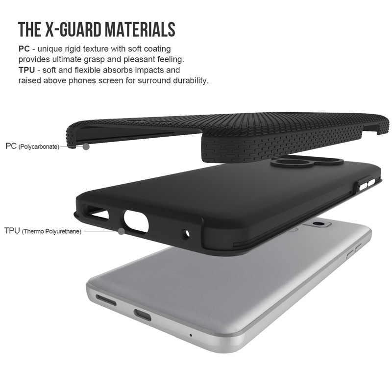 Toiko X Bảo Vệ Điện Thoại Di Động Dành Cho LG G6 Chống Sốc 2 Trong 1 Ốp Lưng TPU Mềm Dẻo PC Cứng Chắc Chắn áo Giáp Nặng Vỏ Bảo Vệ