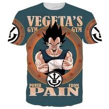 Classic Dragon Ball Z Super Saiyan 3D T-shirt