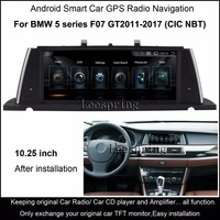 car accessories 10.25 inch Car Smart Player for BMW 5 Series F07 GT 2011 2017 with GPS Navigation MP5 Wifi Bluetooth