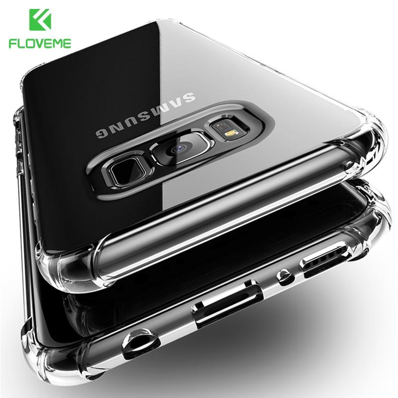 FLOVEME Anti-knock Case για Samsung Galaxy S9 S8 Rubber Clear Note - Ανταλλακτικά και αξεσουάρ κινητών τηλεφώνων
