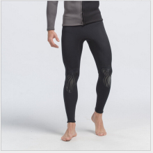 SBART Men 3MM Neoprene Swimming Long Pants Diving Surfing Tights Sports Leggings Wetsuit Swim Rashguard Short De Bain