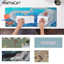 MaiYaCa Vintage Cool Natsume friend account  Rubber Mouse Durable Desktop Mousepad Free Shipping Large Pad Keyboards Mat