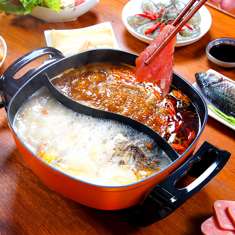 220V Multifunctional Electric Hot Pot Cooking Frying Electric Barbecue Grill Machine 2 Favor Household Non-stick Cooking Curry фанатская атрибутика nike curry nba