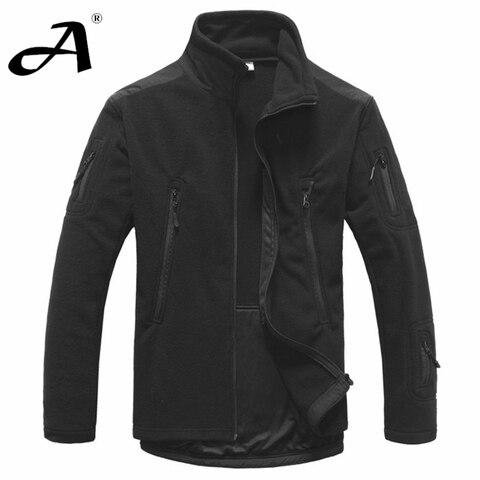 mens clothing autumn winter fleece army jacket softshell clothing for men softshell military style jackets Multan