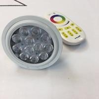 4pcs Led Par30 RGBW Lamp 12w led Light Flood Light Bulb Par30 E27 Cob Osram Led Warm White Spot Lamp For Kitchen Clothes Shop