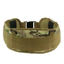 Military Airsoft Adjustable Tactical Padded Molle Waist Belt Combat Army Battle Cummerbunds For Mens