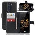 Moda carteira pu leather case capa para lg k8 slot para cartão flip tampa do telefone de proteção shell de volta visto