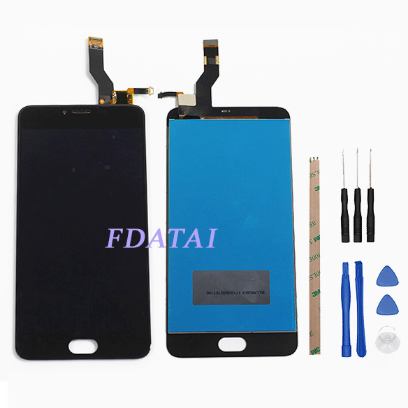 LCD Display For Meizu m3 note L681H LCDs Touch Screen Mobile Phone Digitizer Assembly Replacement Parts With Free Tools