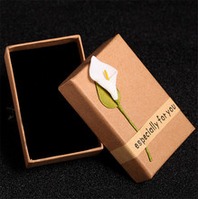 Wedding & Engagement Gift Box Empty Jewelry Storage Ring Necklace Container for Anniversary Valentines Day Present