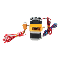12 24V Fan 3D Printer Head Makerbot 3D Printer Single Exturder MK8 Extruder Free Shipping