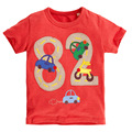 New 2016 T Shirt for Baby Boys T Shirt Children's clothes Digital embroidery boy T-shirt in summer Children Clothing Blaze