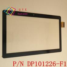 Черный белый 10,1 дюймовый DP101226-F1 планшетный ПК сенсорный экран панель дигитайзер стекло сенсор Замена