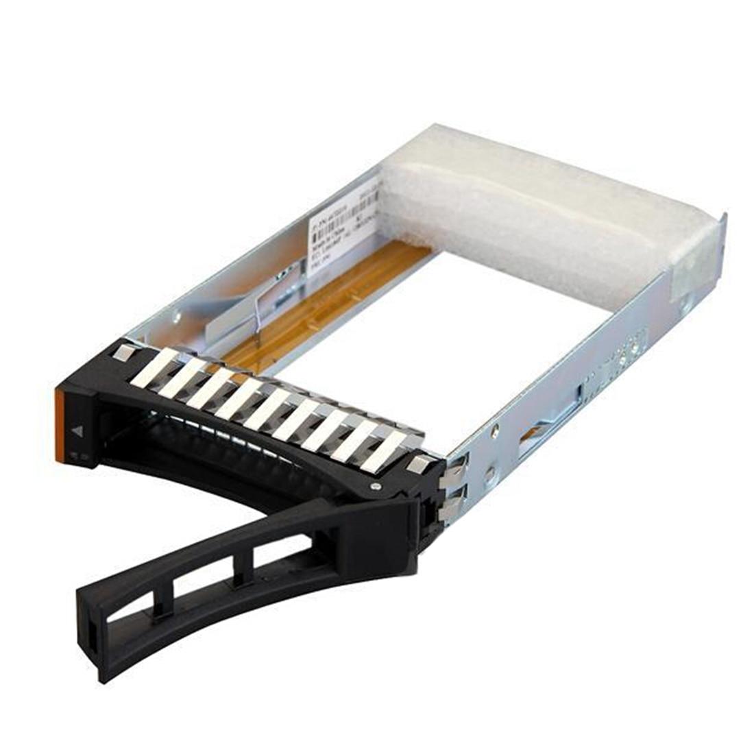 Noyokere 2.5 pulgadas SAS SATA servidor HDD hard drive bay bandeja soporte Caddy para IBM unidades 44T2216 alta calidad