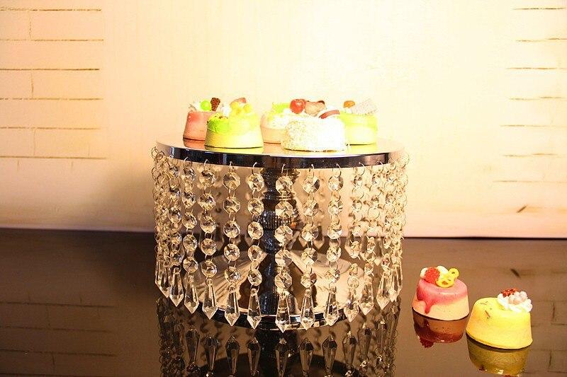 무료 배송 고급 크리스탈 촛대, 케이크 트레이, 과일 트레이, 결혼식 장식 가정 파티 반드시해야합니다