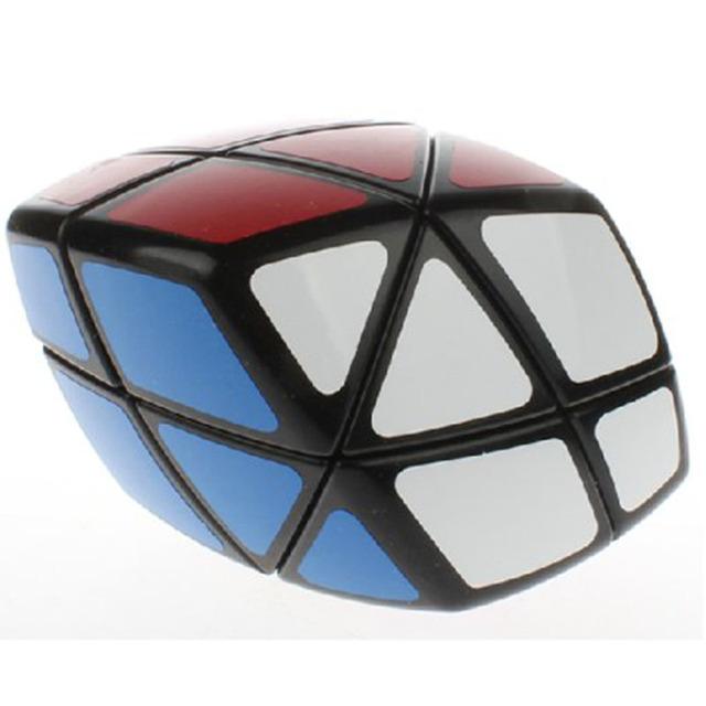Nueva LanLan Skewb Curvy Romboedro Profesional Cubo Mágico Puzzle Velocidad Juguete Clásico Juguetes Educativos de Aprendizaje Para Niños Negro
