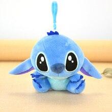 WVW Mini Plush Stuffed Animal Cartoon Kids Toys for Girls Children Baby Birthday Christmas Gift Kawaii Stitch Doll Pendant