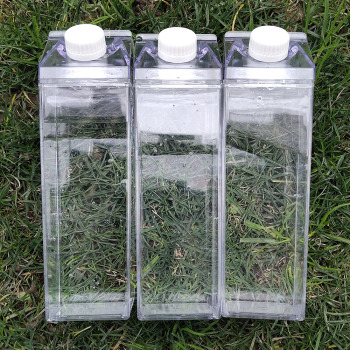 My 500ml Outdoor Sport Kitchen Transparent Milk Water Bottle Drinkware Creative Climbing Tour Hiking Adults Sport Water Bottles 1