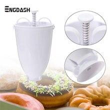 ENGDASH Food Grade Plastic Doughnut Donut Maker Machine Mold Kitchen Pastry Making Bake Ware DIY Baking Tool Kitchen Accessories