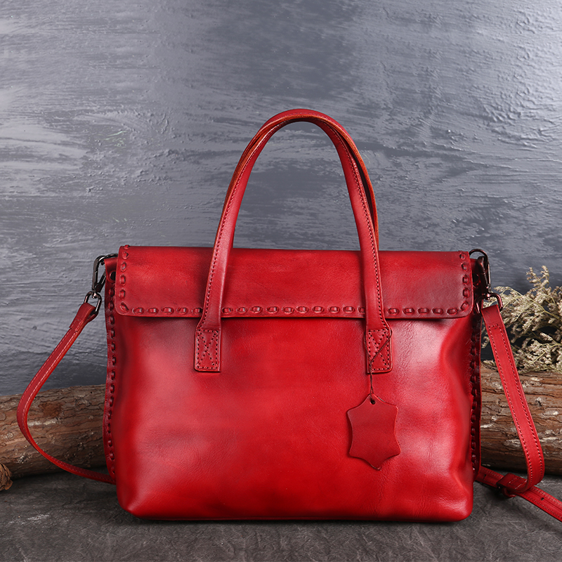 Здесь можно купить  Nesitu Vintage Brown Red Black Green Genuine Leather Women Handbags Fashion Lady Shoulder Bag Messenger Bags Tote M3022  Камера и Сумки