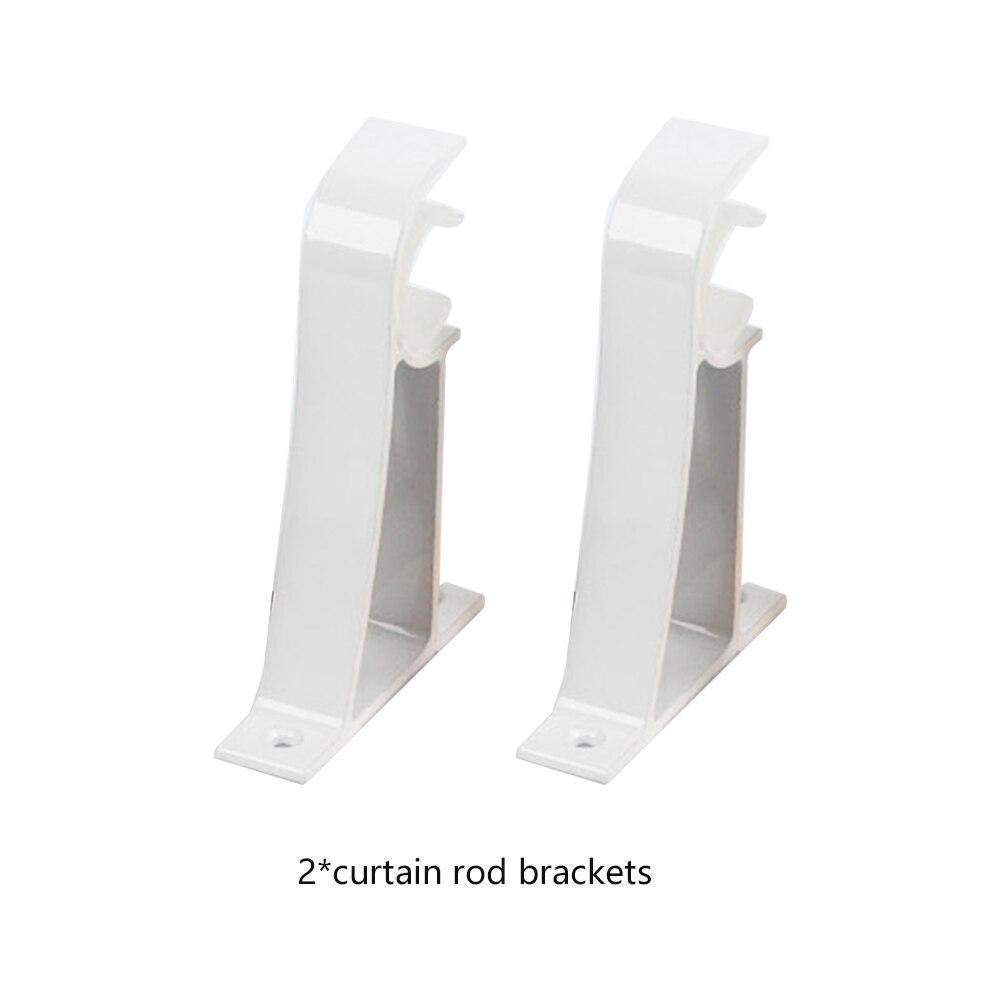 2 Pcs Home Decke Montieren Basis Pole Halter Verdickt Moderne Vorhang Stange Halterung Haken Aluminium Legierung Dekorative Leicht Befestigt Installieren Dauerhafte Modellierung
