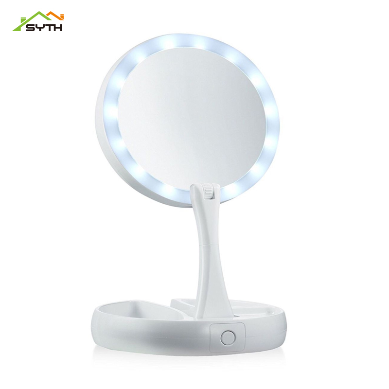 New Exotic Lights LED Folding Mirror Light Multi-function Touch Vanity Lamp Vanity Mirror Lights Make Up Table Makeup Lamp