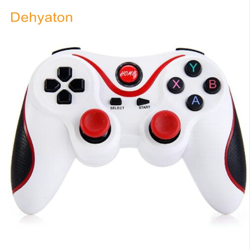 Android Smartphone Tablet PC TV Box üçün Dehyaton T3 Android Simsiz Bluetooth Gamepad Oyun Uzaqdan İdarəetmə Joystick BT 3.0