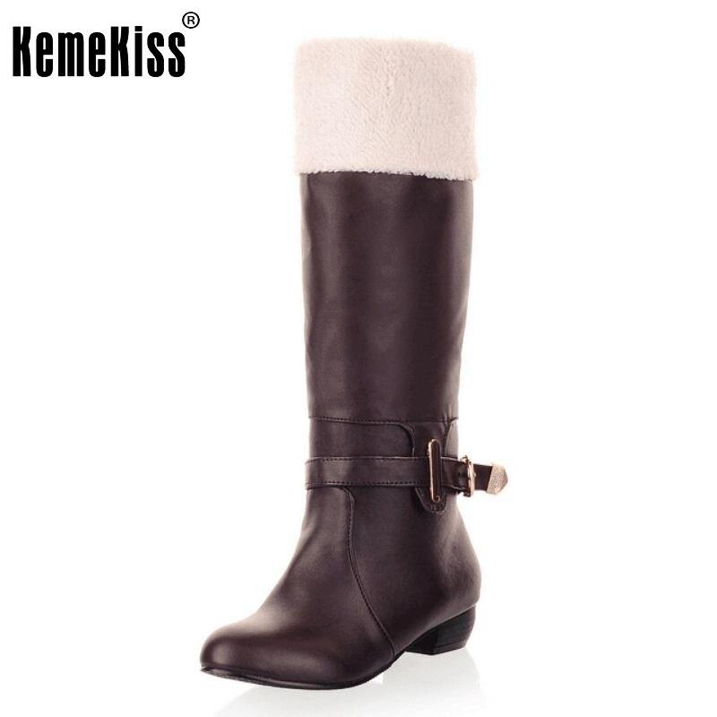 Women Flat Half Short Boots Winter Snow Warm Mid Calf Boot Round Toe Thicken Fur Classics Flock Footwear Shoes Size 34-39 free shipping 1pcs lot original modular solid state relays g6d f4b dc24v
