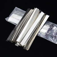 0 5kg Quality Low Resistance 99 96 Pure Nickel Strip Sheets For 18650 Cell Battery Thickness