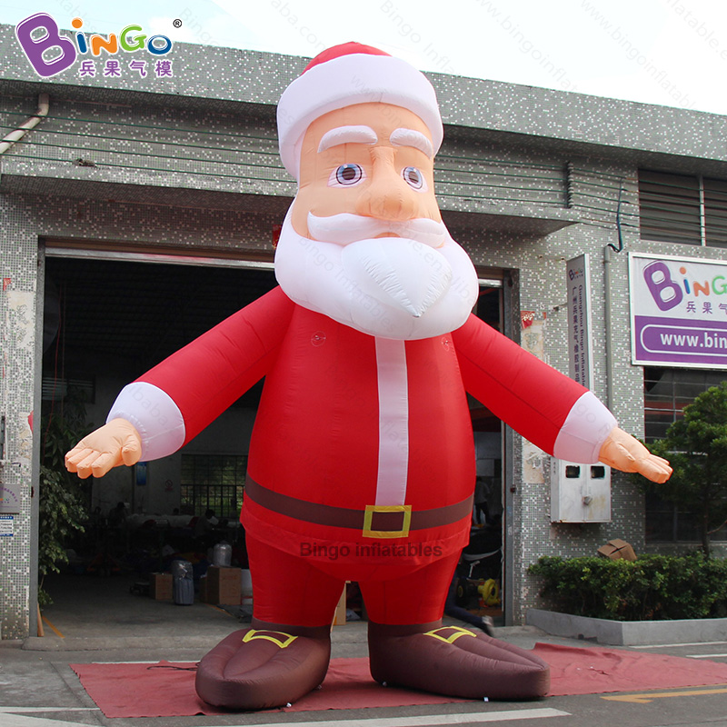 Custom made 16 feet height christmas inflatable santa / 5M tall giant inflatable santa claus balloon toysCustom made 16 feet height christmas inflatable santa / 5M tall giant inflatable santa claus balloon toys