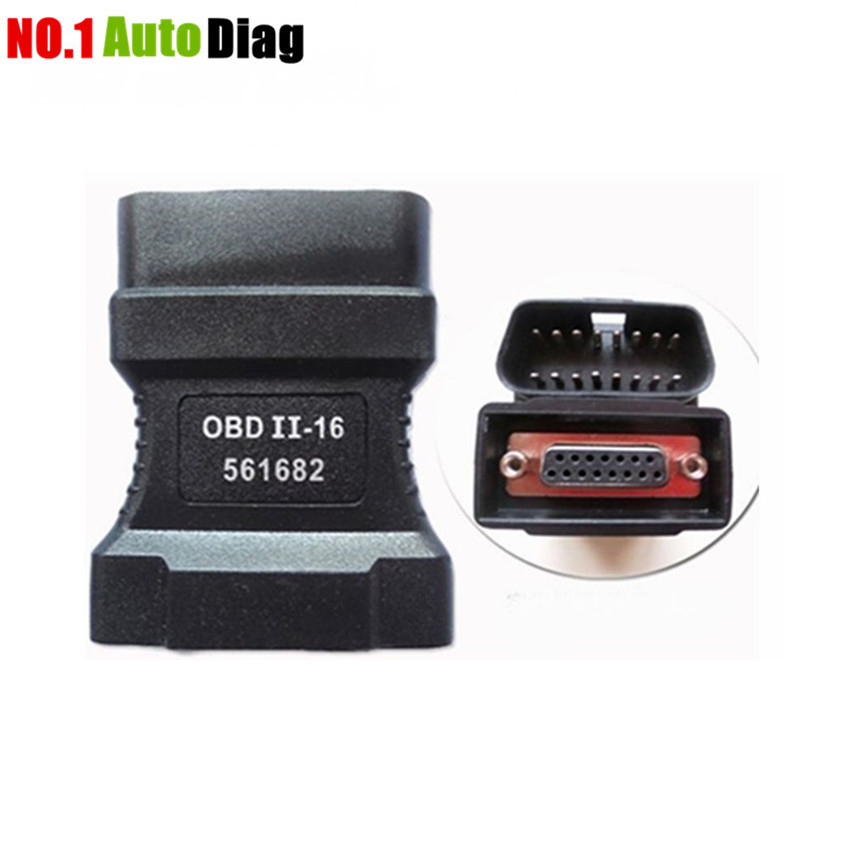 Prix pour Vente chaude 100% d'origine de haute qualité professionnel obd2 16pin adaptateur obd connecteur de autoboss v30 avec prix usine
