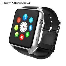 Hetngsyou сердечного ритма Мониторы bluetooth водонепроницаемый смарт часы анти-потерянный SmartWatch Поддержка sim-карты для Android PK Apple Watch