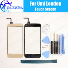 Umi London Touch Screen Digitizer 100% Guarantee Original Digitizer Glass Panel Touch Replacement For Umi London+ Tools