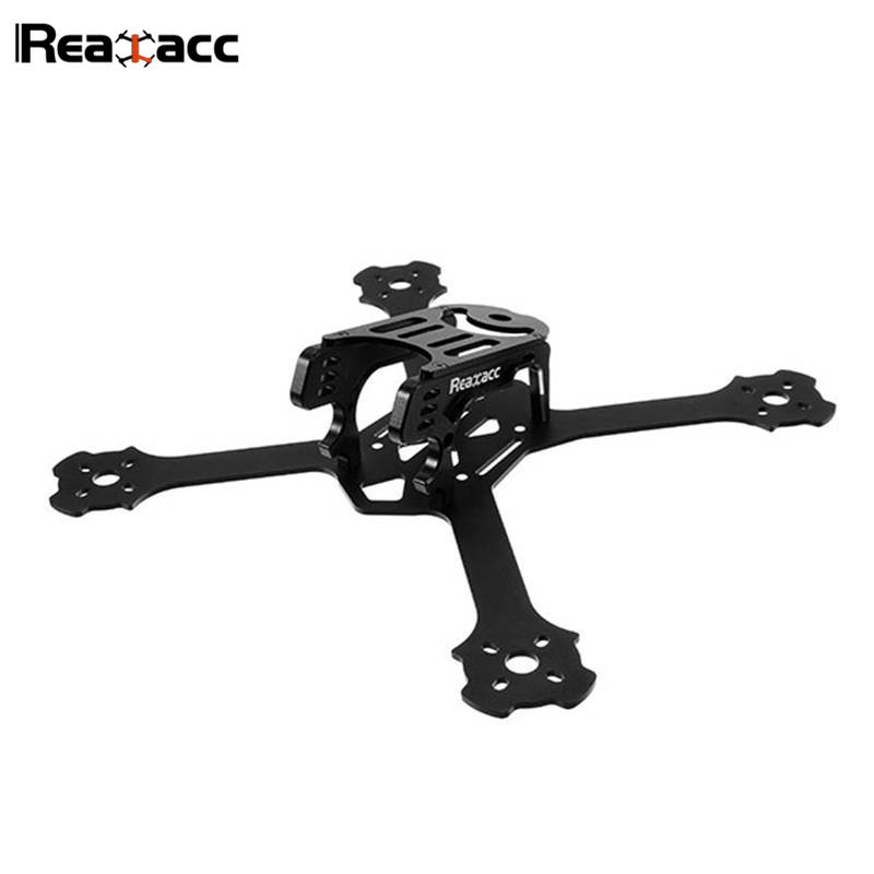 Original Realacc Metalstar 200mm 3mm Arm Thickness 7075+6061 CNC Aluminum Frame Kit For RC Multicopter Quadcopter Frame original realacc orange85 1106 6000kv 1s 3s brushless motor for rc quadcopter frame kit engine rc models black