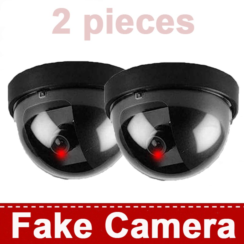 Surveillance Dummy Flash Blinking LED Fake dome camera home CCTV Security Simulated video Surveillance fake camaras de seguridad image