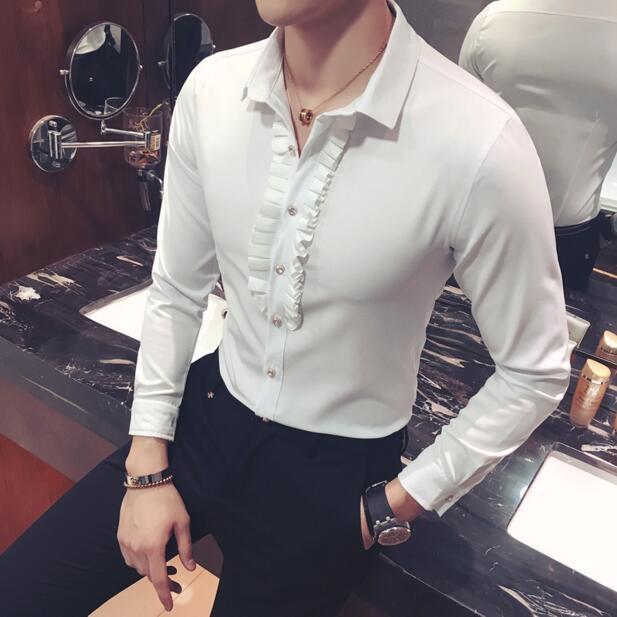 Mens Baroque Slim Fit Shirt 3