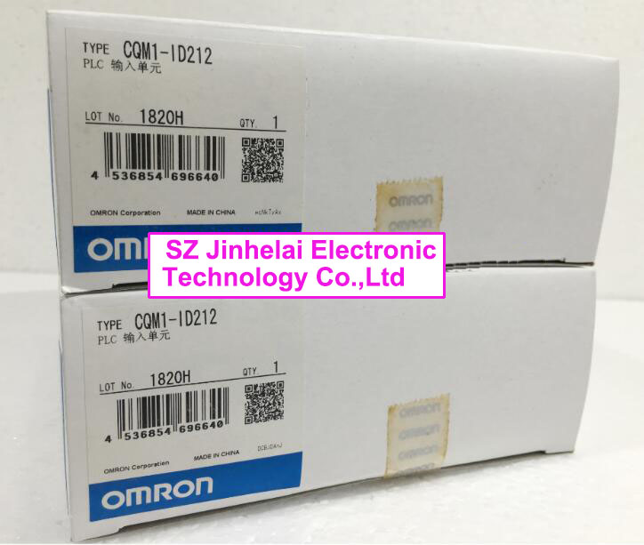 100% New and original  CQM1-ID212   OMRON  PLC   Input module new and original e3x da11 s omron optical fiber amplifier photoelectric switch 12 24vdc
