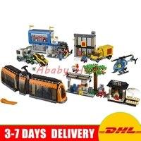 DHL Lepin 02038 1767pcs City Series The City Square Education Building Blocks Bricks Toys Compatible 60097