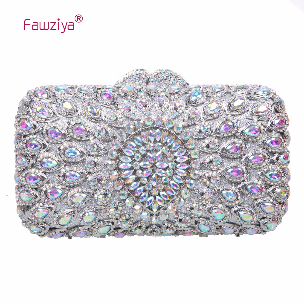 Fawziya Evening Bags and Clutches for Womens Clutch Purses and Handbags fawziya womens handbags and purses man made cat s eye sunflower clutch bag for women purse