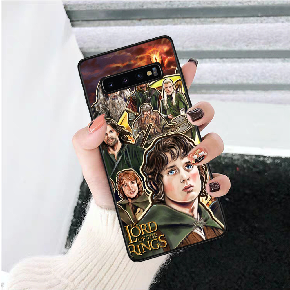 Lavaza the lord of the rings Pattern Silicone Case for Samsung S6 Edge S7 S8 Plus S9 S10 S10e Note 8 9 10 M10 M20 M30 M40 in Half wrapped Cases from Cellphones Telecommunications