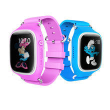 A6 Touch screen kid smart watch as Christmas gift support IOS and Android phone GPS Location