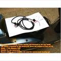 4 years warranty Universal Motorcycle ATV UTV E-BIKE round switch Carbon Fiber Seat Heater heated pad