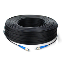 300m FTTH Fiber Optic Drop Cable Patch Cord FC to FC SM Single Core FC/UPC FC/UPC Fiber Jumper 300 meters