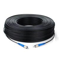 300m FTTH Fiber Optic Drop Cable Patch Cord FC to FC SM Single Core FC/UPC FC/UPC Fiber Jumper 300 meters