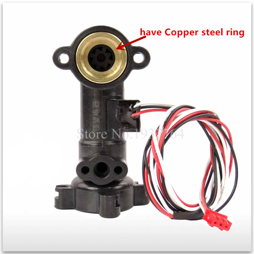 Home Appliances Gas Water Heater Parts 1pcs New Copper Ring Water Flow Sensor Of Gas Water Heater Wall Hanging Furnace Flow Switch Full Copper Holzer Water Flow Meter
