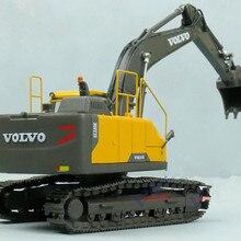 Сплав модель 1:50 Масштаб VOLVO EC220E гидравлический экскаватор инженерное оборудование литья под давлением игрушечная модель для коллекции, украшения