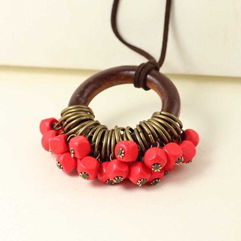 vintage kvinna smycken uttalande halsband och hängen, långa - Märkessmycken - Foto 3