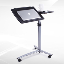 BSDT Burke Knott standing notebook comter bed desk bedside mobile lifting rotary lazy table FREE SHIPPING