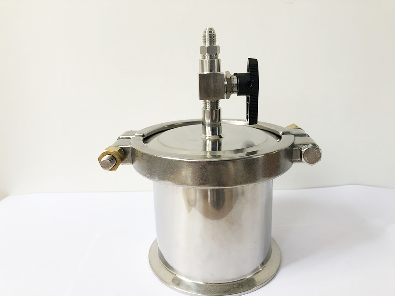 4 x4 Closed Loop BHO Extractor By High Pressure Tri Clamp OD119 Length 4 100mm Recovery