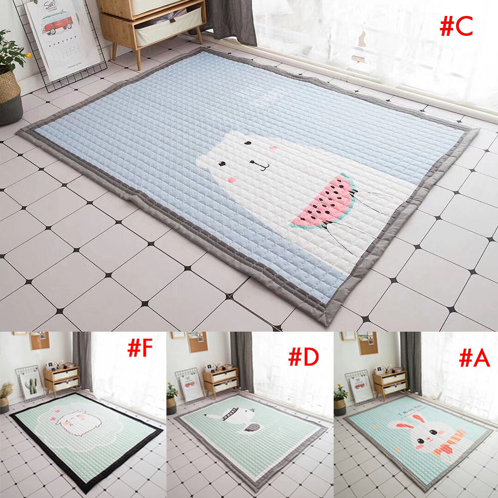 140X195 cm bébé tapis de jeu enfants tapis universel lavable tapis pour salon anti-dérapant chambre tapis de jeu - 4