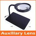 10X 3X 5X 8X 36 шт. светодиодные лампы Настольная подсветка подставка для чтения Складная лупа Ремонт настольная лампа настольная увеличительное...